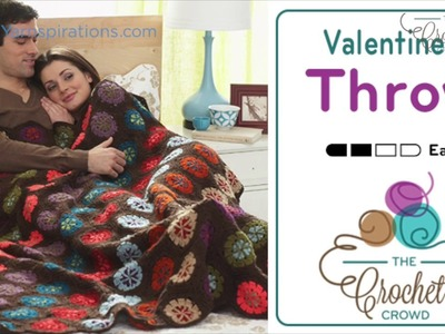 How To Crochet A Blanket: Valentine Throw