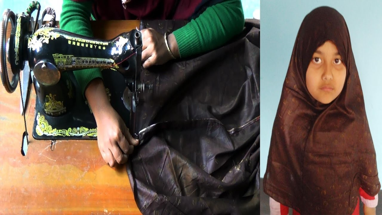 How to Cutting and Sewing Hijab by NT Fashion Point