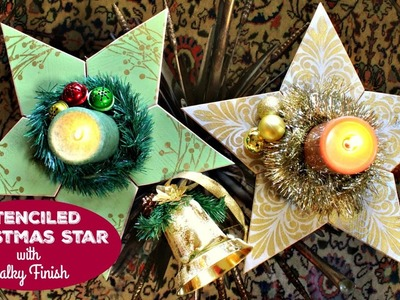 HOW TO: Five Point Wood Stars
