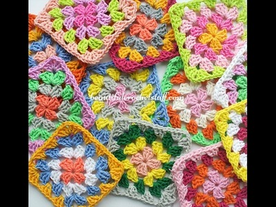 How To Join Granny Squares (Granny Square Cardigan)