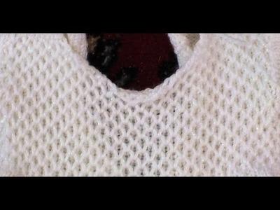 How to Loom Knit Honeycomb Brioche Stitch Flat