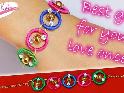 How to make a bracelet | Valentine day Special |  DIY | Artkala