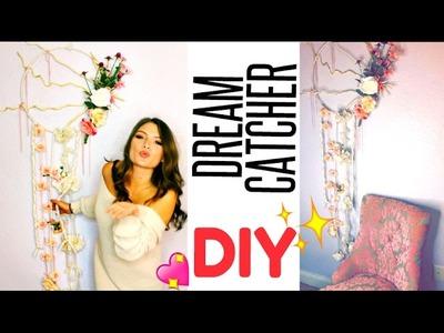 How to make A DIY GIANT DREAM CATCHER TUTORIAL!