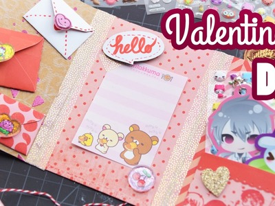 How to Make a Kawaii Valentine's Day Flipbook | Craft DIY |  ♥
