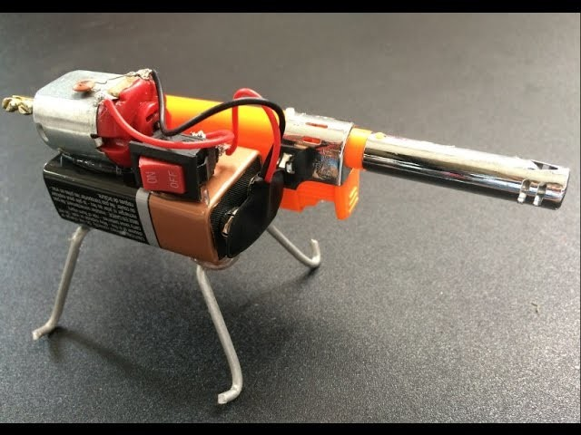 How To Make a mini Robot Spider