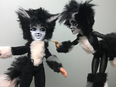How to make a Mister Mistoffelees Doll  - cats musical
