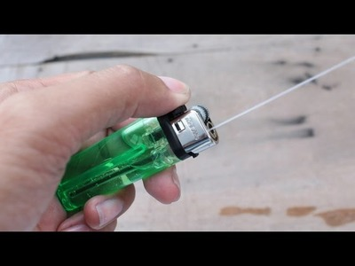 How To Make a Water Gun using Lighter