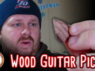 How To Make A Wood Guitar Pick