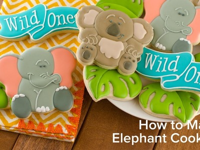 How to Make Elephant Cookies