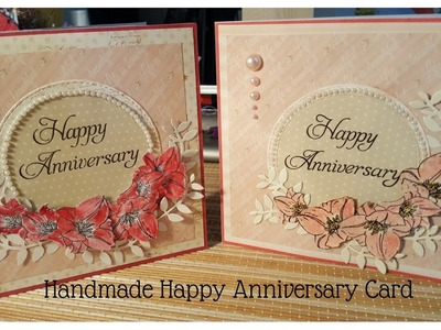How to make Happy Anniversary Card