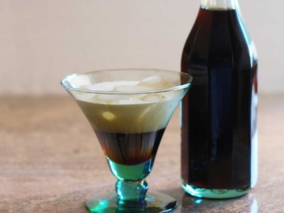 How to make Kahlua coffee liqueur at home