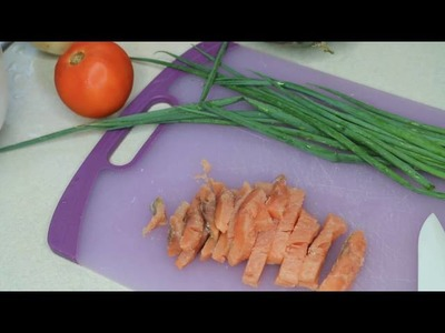 How to Make Lomi Lomi Salmon    Traditional Hawaiian luau dish
