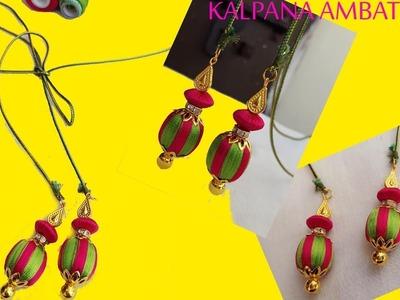 How to make silk thread Dori for designer wear latkans. tassel for saree blouse | DIY #tutorial