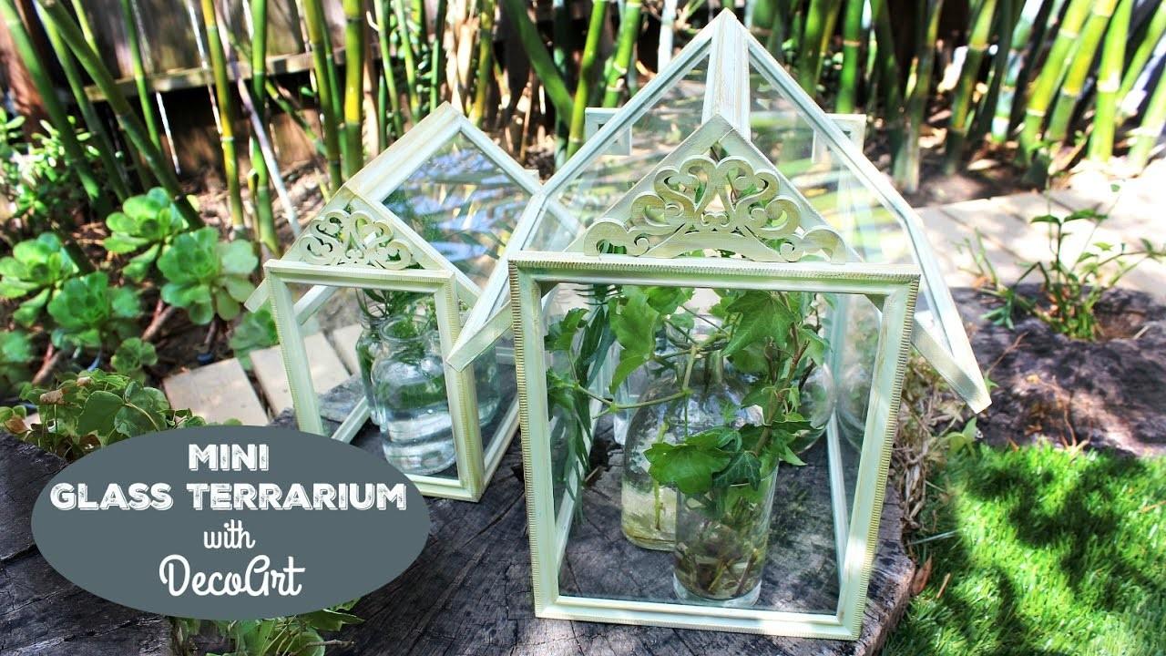 HOW TO: Mini Glass Terrariums