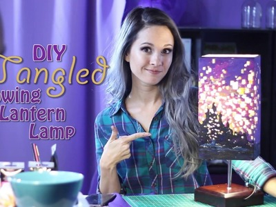 HOW-TO'S-DAY: DIY Tangled Lamp