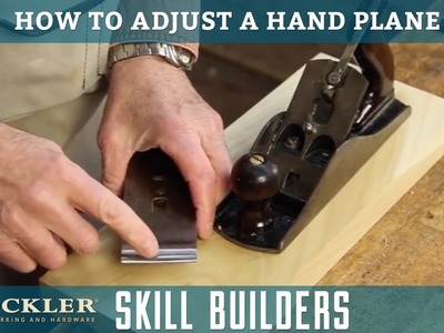 How to Set Up a Hand Plane | Rockler Skill Builders