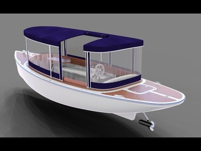 How yto make an powerful electric boat at home
