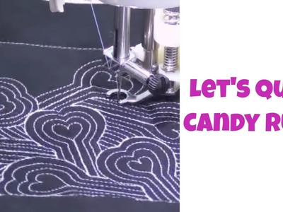 Learn how to Quilt Candy Rush - Fun, Fast Quilting Tutorial with Leah Day