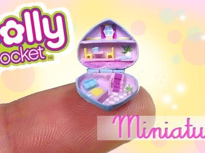 Miniature Polly Pocket Tutorial. DIY Miniature Dollhouse