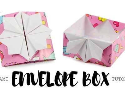 Origami Pop Up Box. Envelope Tutorial ♥︎ DIY ♥︎ Paper Kawaii