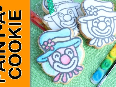 Paint-A-Cookie step-by-step tutorial how to PYO cookies - Edible & disposable paints