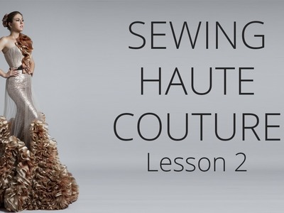 Premium Dress | How to sew Haute Couture Fashion Dress DIY #2
