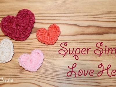 Quick, Simple & Super Sweet Crochet Love Hearts
