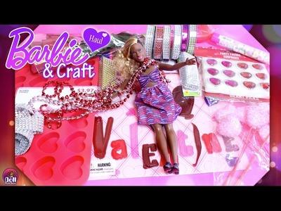 ❤ Valentine's Barbie & Craft HAUL Part 1! Dollar Tree, Walmart & Thrift