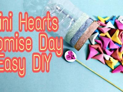 VALENTINE'S DAY DIY, Promise Day Mini Hearts Jar, Craft Guru