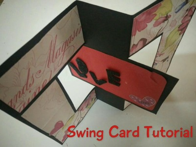 Valentine's Day Swing Card Tutorial | How To | CraftLas