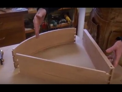 +++Woodworking | Crafting | How to | Making Half-Round Desk !!!! Project DIY with Tom McLaughlin