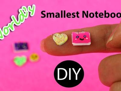 World's Smallest Notebook. DIY Miniature Dollhouse by Creative World