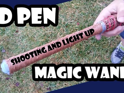 3D PRINTING PEN: how to make a magic wand