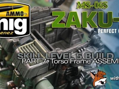 Ammo by Mig Jimenez PG Zaku II Part 7: ZAKU BEAD INCOMPETENCE!
