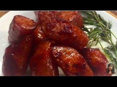 Asian Kitchen, How To Fried Sausages Without Using Oil