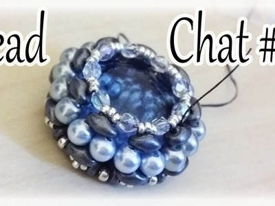Bead Chat #19 I want to show you this bezel before I disassemble it. Inspire yourself!
