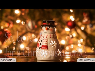 Bead Chat #20 - Beaded Christmas tree - Is it a bead chat even if I don't talk at all? ^^