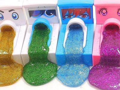 BINGO - Learn Colors DIY How To Make Glitter Slime Poop Toilet Kids Children Toys Nursery Rhymes