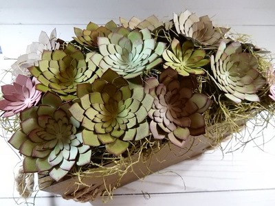 Creating a Succulent Garden out of Paper | Stampin' Up!