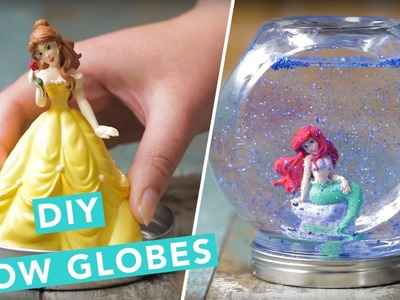 DIY Disney Princess Snow Globes | Nailed It