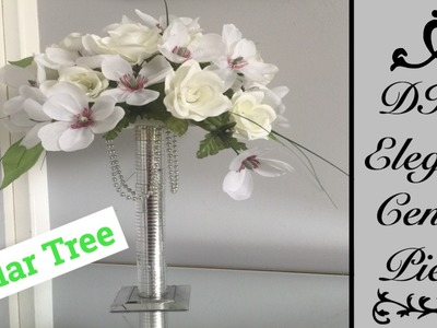 DIY elegant center piece.dollar tree items
