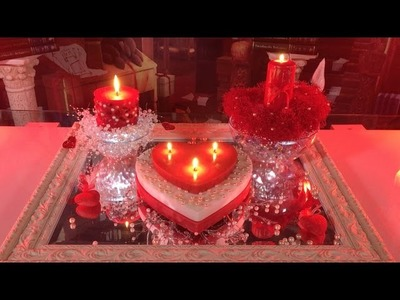 DIY: Heart Candles with Pearls - Gifts for Valentine's Day ➻4A