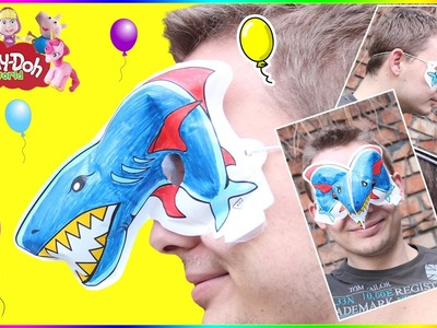 DIY How To Make BALLOON MASK | Amazing KIDS 3D Modeling Creation