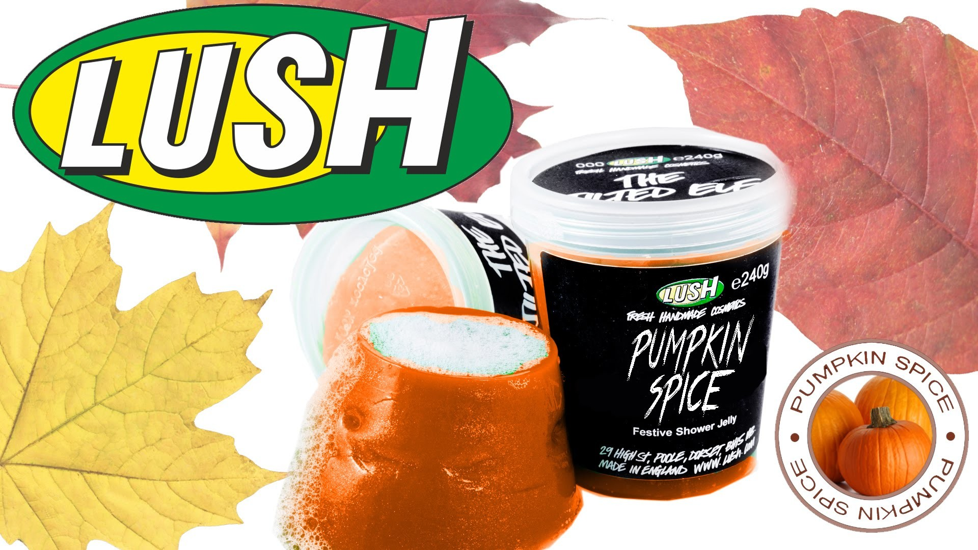 DIY | Lush Pumpkin Spice Soap Jelly - HOW TO MAKE A LUSH SHOWER JELLY!!!