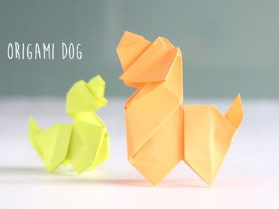 DIY: Origami Dog