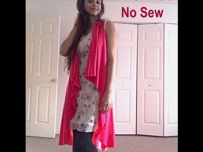 "DIY SHRUG ""No Sew"""