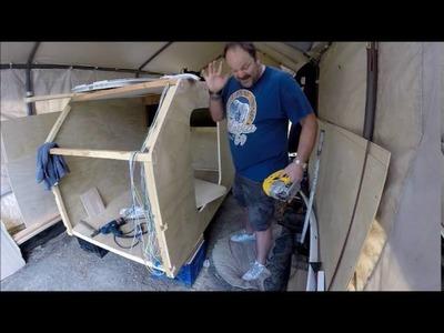 DIY Teardrop Build Day 12 Finally Got My Doors