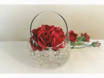 DIY: WATER BEADS AND ROSE DECOR. MOTHER'S DAY, WEDDING. DOLLAR TREE ROSES