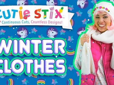 DIY Winter Clothes Decorating! | Official Cutie Stix