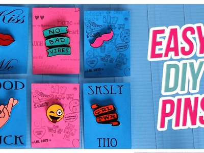 Do It, Gurl: Easy DIY Pins